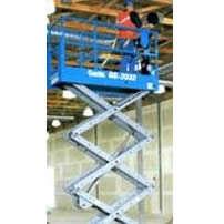 A Plataforma executa operações nos ramos de construção, manutenção e instalação. Tem inclinação de 30% e funciona com energia CA (Corrente Alternada).