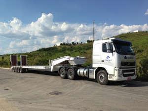 Prancha Reta 04 eixos - Transporte Pesado
