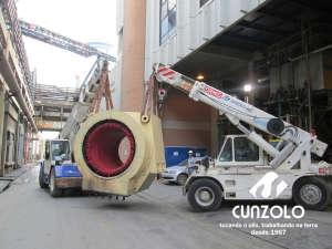 Içamento de Rotor com Guindaste Industrial em Jacareí - SP