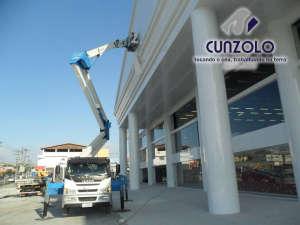 Instalação de Letreiro com Plataforma Elevatória em Mogi das Cruzes - SP