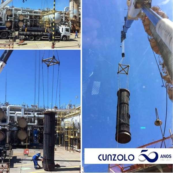 Remoção Industrial e Içamento de Feixe Vertical em Paulínia
