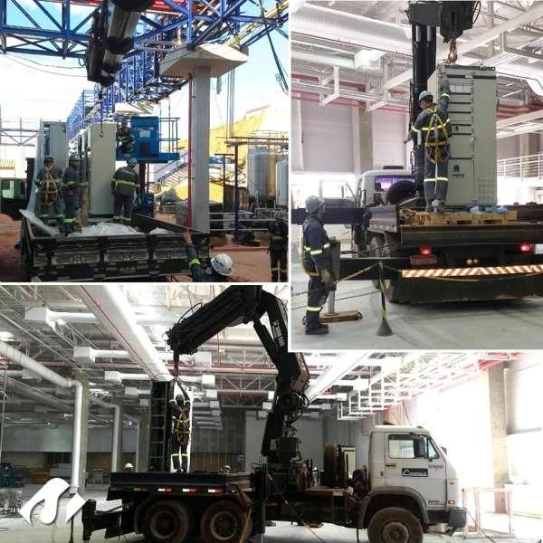 Remoção Industrial na cidade de Itatiba-SP.