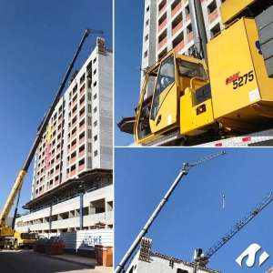 Desmontagem de Grua em Bragança Paulista