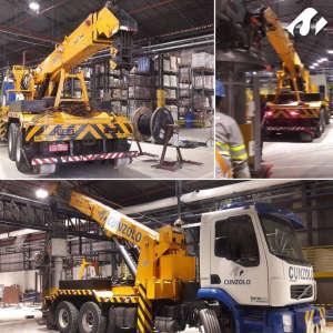 Remoção Industrial e Guindaste Industrial em Itapevi-SP.